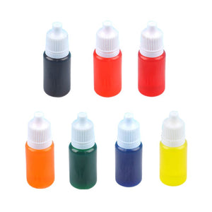 7 Colors Dye Colorant Set Slime Jewelry Making Skin Safe Liquid Resin Pigments