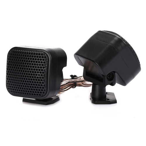 90 Degree Adjustable Stand 12V 500W Car Tweeters Audio Speaker Loudspeaker CD MP3 Super Power Universal Auto Speakers For IPod