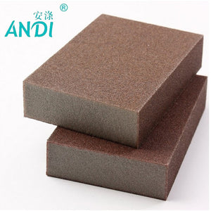 ANDI 5pcs/lot Highest Density Kitchen Nano Emery Magic Clean Rub the pot Except rust Focal stains Melamine Sponge 10*7*2.5cm