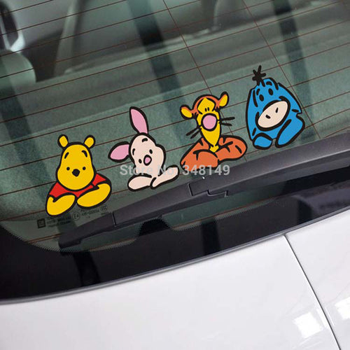 Aliauto Funny Car Sticker & Decal family sticker Accessories for Ford Focus Chevrolet Cruze Volkswagen golf Polo Kia Lada Opel