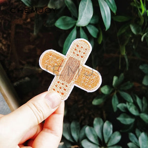 Bandage Embroidery Patch for Clothes Ironing on Stickers Biker Patch Sewing Applique for Jacket Jeans Shoes Backpack Badges