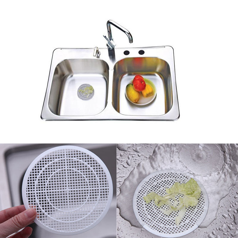 bath sink strainer shower drain cover trap basin filter cleaning net h bargain industries