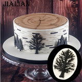 Branches Cake Border Silicone Molds Tree Cupcake Fondant Cake Decorating Tools Chocolate Gumpaste Candy DIY T-0956