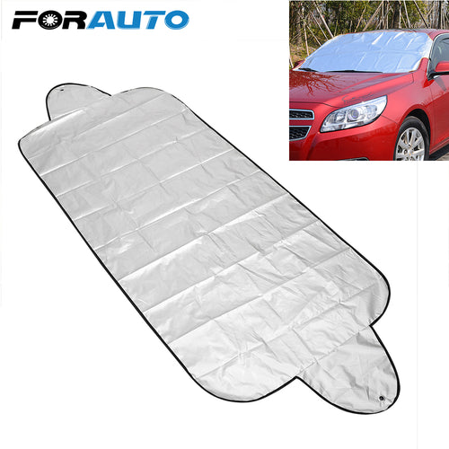 Car Front Window Screen Cover Auto Sun Cover Car Windshield Shade Dust Protector Anti Snow Frost Ice Shield Car Windscreen Cover