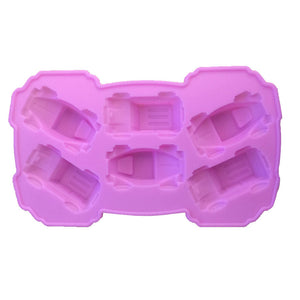Car Sports car Silicone Mould Cake Chocolate Pan Fondant Silicone Molds Ice Cubes Cake Decorating Moulds DIY Jelly Baking Tools