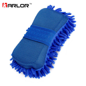 Car Styling Sponge Microfiber Washer Towel Duster For Cleaning & Detailing, Wahing Brushes For BMW Ford Focus 2 3 Volkswagen VW