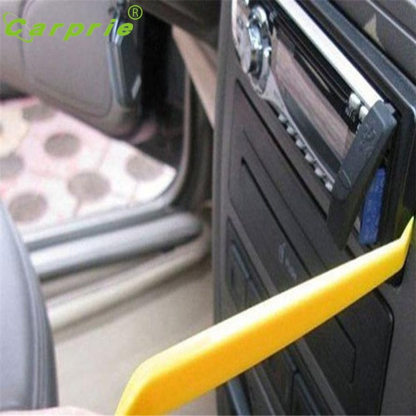 Car-styling 4Pcs Pry Installer Removal Trim Audio Car Radio Door Panel Cockpit Tools Oto Teypleri For Car Accessories DEC 16(15)