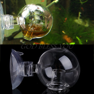 Carbon Dioxide CO2 Monitor Aquarium Fish Tank Glass Drop Ball Checker Tester New