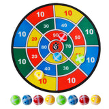 Children Indoor Outdoor Sport Toy Social Parent-Child Game Safety Dart Board With 8 Balls Sports Toys Set For Kids Birthday Gift
