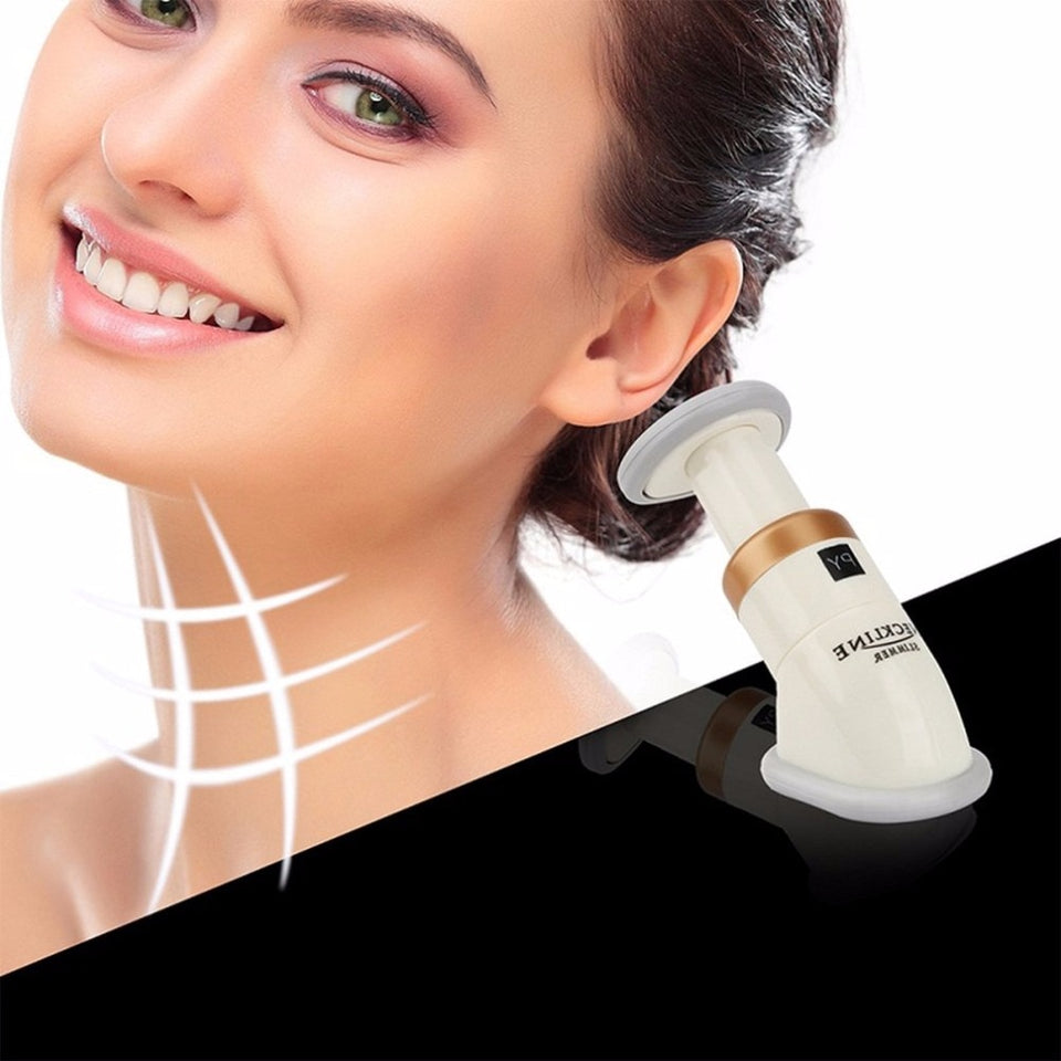 Chin Neck Massage Delicate Neck Slimmer Neckline Exerciser Reduce Double Thin Wrinkle Removal Jaw Body Massager Face Lift Tools