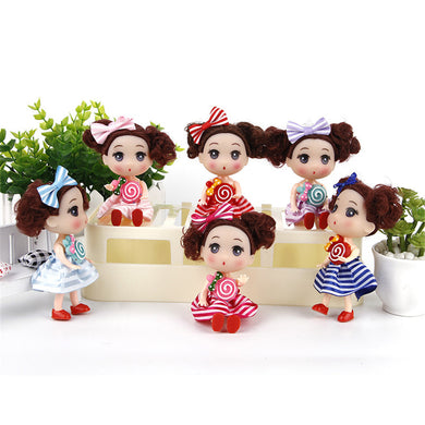 Confused Mini Doll Gifts For Girls Wedding Decoration Creative Children's Toy Kids Toy Soft Interactive Baby Dolls 12CM
