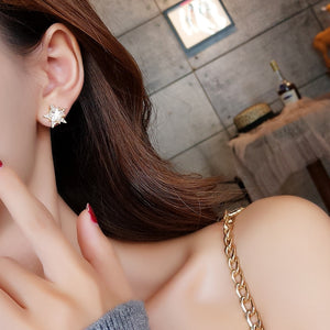 Crystal Vintage Star Women Dangle Earrings Asymmetric Star Girl With Long Earrings For Women Drops Earrings  Tassel Earrings