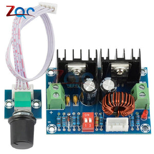 DC-DC Voltage Regulator Module 200W XL4016 Step Down Buck Module High Power 8A With External Potentiometer