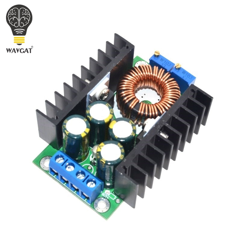 DIY WAVGAT Electric Unit High quality C-D C CC CV Buck Converter Step-down Power Module 7-32V to 0.8-28V 12A 300W XL4016