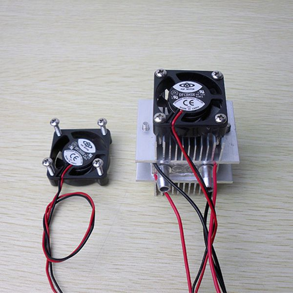 TEC1-12706 DIY kits Thermoelectric Peltier Refrigeration Cooling System fan
