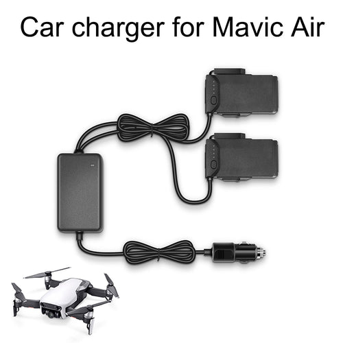Car Charger Drone Battery Fast Charging Travel Charger Transport Outdoor Charger For DJI Mavic Air Flight Battery