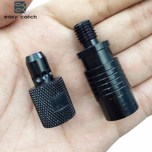 Easy Catch 1pc Aluminum Alloy Quick Release Adapter Connector Carp Fishing Rod Bite Alarm Rod Holder Connector