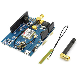 Elecrow GPRS GSM SIM800C Shield for Arduino SIM800C Module With Antenna Sim900 GSM GPRS PCBA Development Board DIY Kit Modules