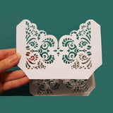 Flourish Lace Pocket paper Craft Die cut metal Cutting Dies Scrapbooking decorative Embossing Stencil Card make pattern Template