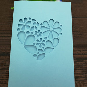 Flower Floral Love Heart Decor Card 2018 new Metal Cutting Dies Die cutter Stencil DIY Scrapbook Paper Photo Craft Template Dies