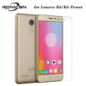 For Lenovo K6 Power Tempered Glass 5.0 inch 0.3mm Amazing H Anti-Explosion Screen Protector For Lenovo K6 Cover case film