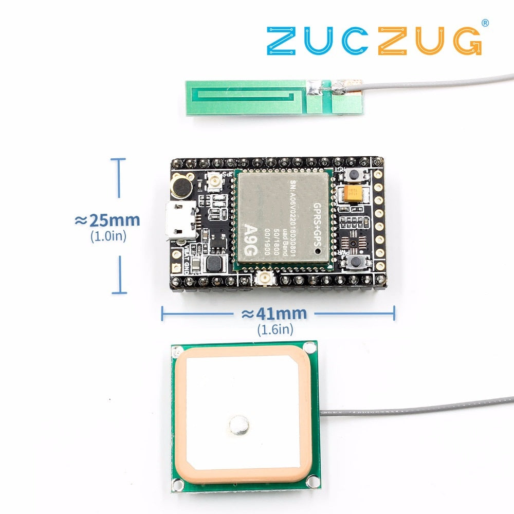 GSM / GPRS + GPS / BDS Development Board A9G Development Board \ SMS \ Voice \ Wireless Data Transmission + Positioning