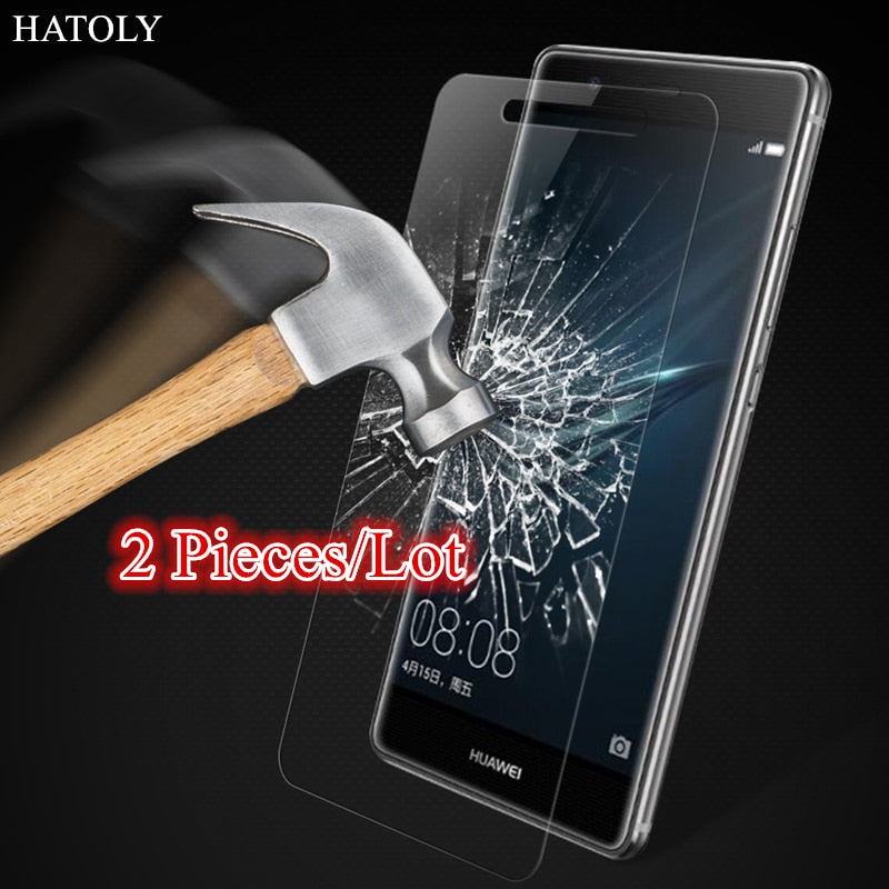 Glass Huawei P9 Lite 2017 Tempered Glass for Huawei P9 Lite 2017 Screen Protector for Huawei P9 Lite 2017 Glass HD Thin Film ^