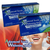 Good Selling 14pcs 7 Packs Advanced Teeth Whitening Strips 3D Ultra Gel Bleaching Tooth Whiten Teeth Oral Care Dental Hygiene