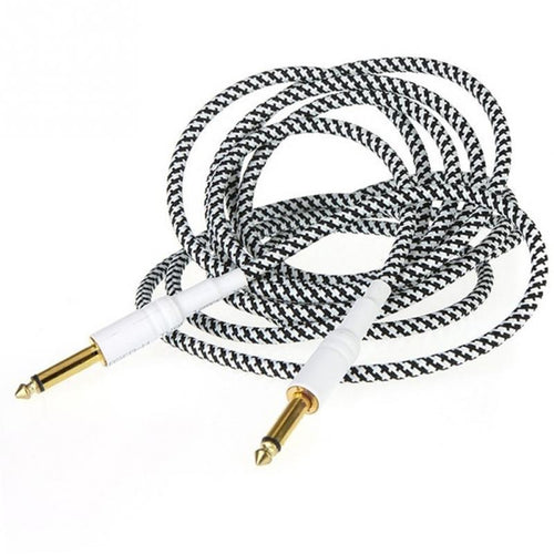 Guitar Woven Cables Cord Lead For Electric Guitar Bass Guitar Instrument Accessories
