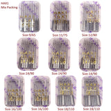HAX1 100pcs Sewing Needles universal 15x1 130x705H mixed kit packing Sewing Accessories for all brand Domestic Sewing Machines