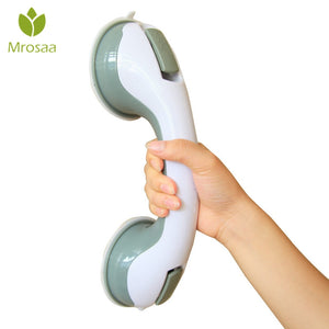 HOT Mrosaa Bathroom Grab Toilet Handle Handrail Grip SPA Bath Shower Tub Safety Helping Vacuum Suction Cup Anti Slip Support