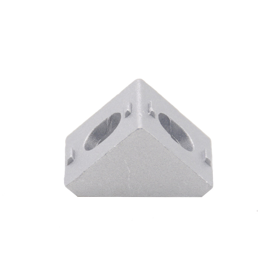 HOTSale 20pcs 2020 corner fitting angle aluminum 20 x 20 L connector bracket fastener match use 2020 industrial aluminum profile