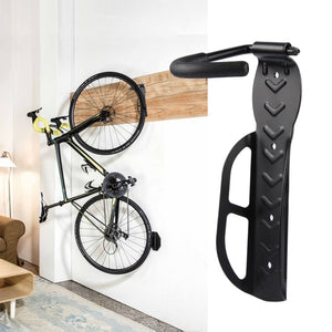 High Quality Bike Showing Stand Wall Hooks Hanger Wall Mounted Rack Strong Steel Bicycle Wall Hanging Rack Cycling Parts Hot