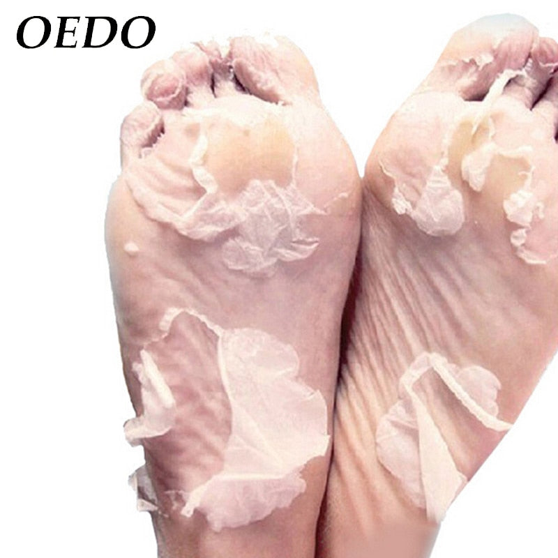 Hot 1Packs Feet Exfoliating Foot Mask Magic Skin Peeling Dead Skin Feet Mask Socks Sosu Socks For Pedicure Socks Foot Mask Foot