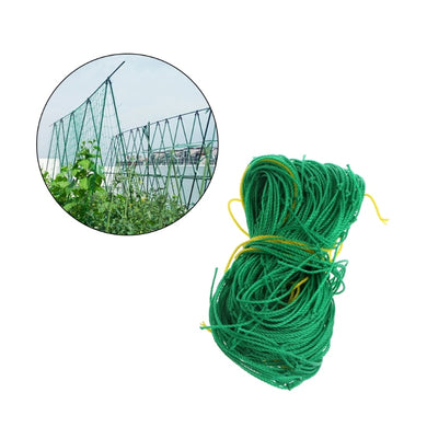 Garden Green Nylon Trellis Netting Support Climbing Bean Plant Nets Grow Fence HT0803
