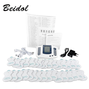 JR309 care health electric muscle stimulator Massageador pads Tens Acupuncture Therapy Machine Massager Slimming Body Treatment