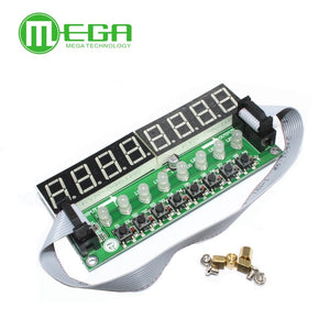 JY-LKM1638, F71A   8* Digital Tube + 8* Key + 8* Double Color LED Module TM1638 Can be Cascaded Replace CH452 / MAX7219