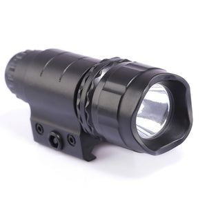 Jinming Plastic Tactical LED High Brightness White Light Flashlight for Nerf Black Front Tube Decoration Parts
