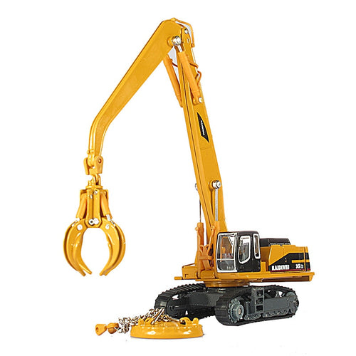 KAIDIWEI Alloy engineering vehicle material handling vehicle Manipulator arm can extend car model boys&girls car toy