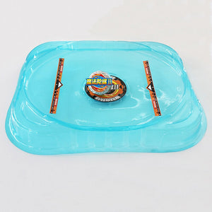 Kids Big  Bey Stadium Attack Battle Top Plate Combat Arena Black Blue Stadium J1  Bey Kids Funny Toy