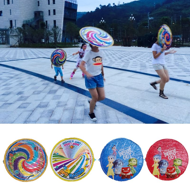 Kids Magic Flying Disc Games for children Saucer UFO Air Outdoor Play Toy