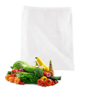 Kitchen Accessories Practical Food Nut Milk Tea Fruit Juice Coffee Wine Nylon Mesh Net Strain Herb Liquid Filter Bag 22x30cm