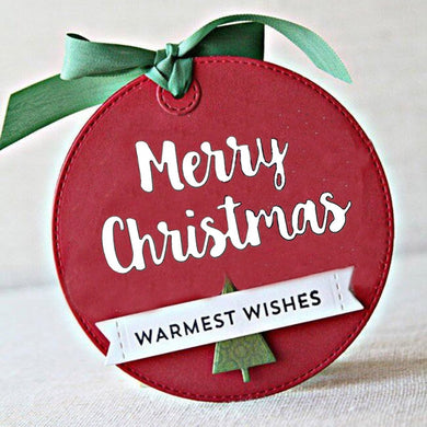 Letter MERRY CHRISTMAS Metal Cutting Dies And Stamp Christmas Dies For Scrapbooking DIY Album Decorations Embossing Cards Making