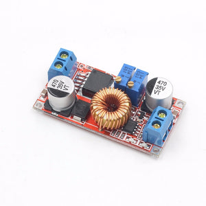 Lithium Battery Charger Module 5V-32V to 0.8V-30V 5A LED Driver Step Down Buck Converter Board Constant Current Voltage