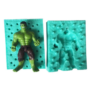 Luyou 3D Hulk Silicone Cake Mold Chocolate Candy Molds DIY Fondant Cake Decorating Tools Kitchen Baking FM1714