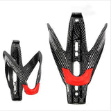 MTB Bike Road Bike Bottle Holder V Shape Carbon Fiber Glass Water Carbon Bottle Cage Bicycle Bottle Holder Bicycle Accessories
