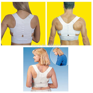 Magnet Posture Corrector Braces&Support Corset Back Belt Brace Shoulder for Men Women Care Health Adjustable