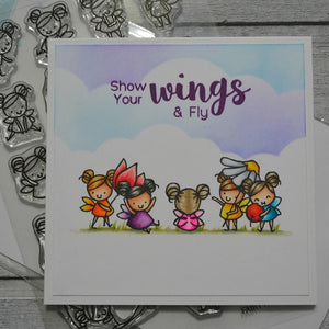 Many Flower Fairy Clear Stamp DIY Stencil For Scrapbooking Handcraft Embossing Template Paper Cards Crafts Fun Handmade