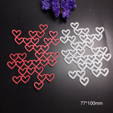 Valentine Heart Frame Metal Cutting Dies Scrapbook Paper Craft Decoration scrapbooking die Cut 2019 Embossing Card Making