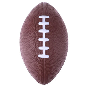 Mini Soft Standard PU Foam American Football Soccer Rugby Squeeze Ball Kids Adults Birthday Christmas Gift Football(Color Random